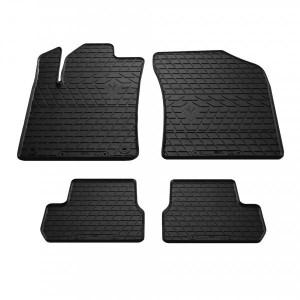 Комплект резиновых ковриков в салон автомобиля Citroen C3 2009-2017 (1003034)