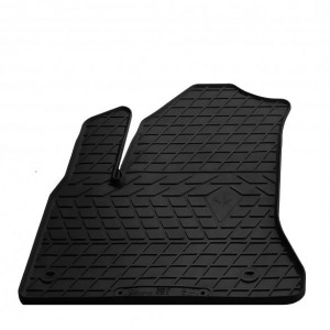 Водительский резиновый коврик Citroen C4 Picasso 2006-2013 (1003054 ПЛ)