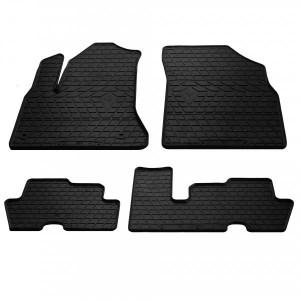 Комплект резиновых ковриков в салон автомобиля Citroen C4 Picasso 2006-2013 (1003054)