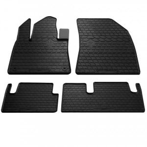 Комплект резиновых ковриков в салон автомобиля Citroen C4 Picasso 2013- (1003064)