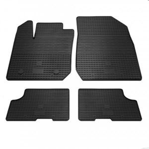 Комплект резиновых ковриков в салон автомобиля Dacia Sandero 2013- (1004024)
