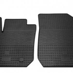 Передние автомобильные резиновые коврики Renault Logan 2013- (1004022)