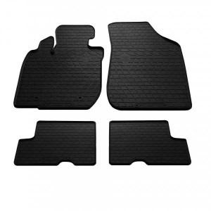 Комплект резиновых ковриков в салон автомобиля Dacia Logan 2004-2013 (1004064)