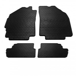 Комплект резиновых ковриков в салон автомобиля Chevrolet Spark M300 2009- (1005044)