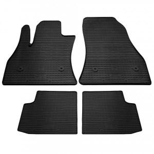 Комплект резиновых ковриков в салон автомобиля Fiat 500L 2012-2020 (1006055)