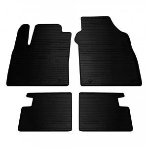 Комплект резиновых ковриков в салон автомобиля Fiat 500 2007- (1006064)