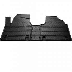 Комплект резиновых ковриков в салон автомобиля Citroen Jumpy 1995-2007 (1006133)