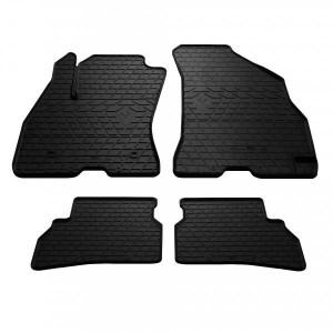 Комплект резиновых ковриков в салон автомобиля Fiat Doblo (263) 2010- (1006154)