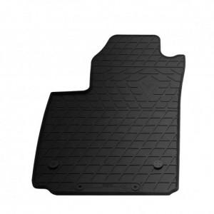 Водительский резиновый коврик Fiat 500 electric 2012- (1006194 ПЛ)