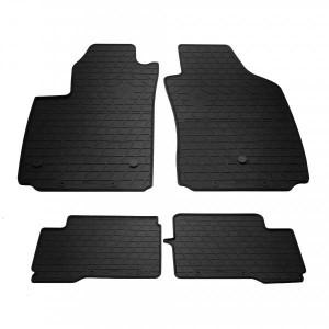 Комплект резиновых ковриков в салон автомобиля Fiat 500 electric 2012- (1006194)