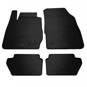 Комплект резиновых ковриков в салон автомобиля Ford Fiesta 2008-2017 (1007014)
