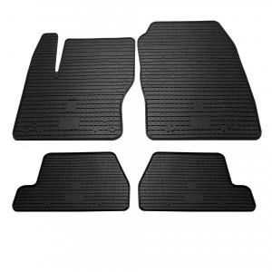 Комплект резиновых ковриков в салон автомобиля Ford Focus 2011-2018 (1007324)