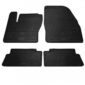 Комплект резиновых ковриков в салон автомобиля Ford Kuga 2009-2013 (1007044)