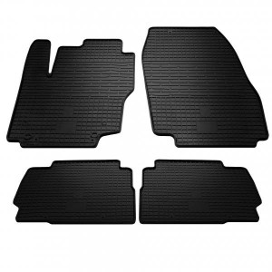 Комплект резиновых ковриков в салон автомобиля Ford Mondeo 4 (2007-2014) (1007074)