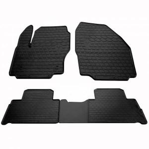 Комплект резиновых ковриков в салон автомобиля Ford S-Max (1007244)