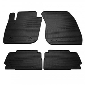 Комплект резиновых ковриков в салон автомобиля Ford Mondeo 2014- (1007094)