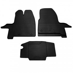 Комплект резиновых ковриков в салон автомобиля Ford Tourneo Custom 2012 (1007113)