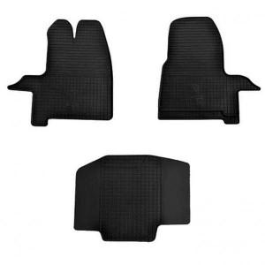 Комплект резиновых ковриков в салон автомобиля Ford Transit Custom 2012 (1007113)