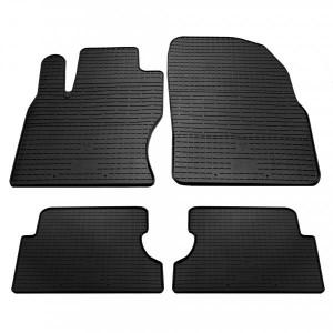Комплект резиновых ковриков в салон автомобиля Ford Focus 2 (1007114)