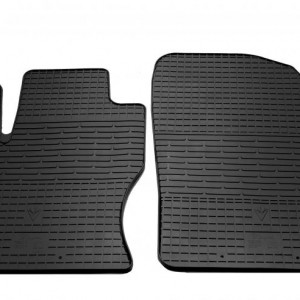 Передние автомобильные резиновые коврики Ford Focus II 2004-2011 (1007112)
