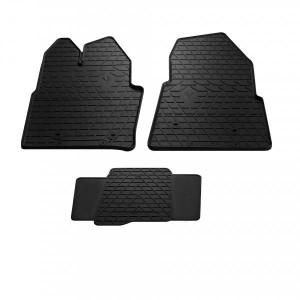 Комплект резиновых ковриков в салон автомобиля Ford Transit 2014- (1007133)