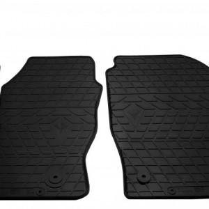 Передние автомобильные резиновые коврики Ford Transit Connect 2014- (design 2016) (1007142)