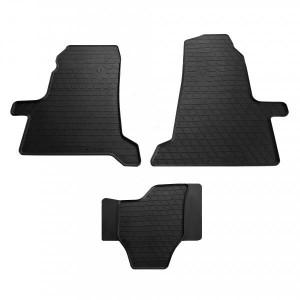 Комплект резиновых ковриков в салон автомобиля Ford Transit 2000- (1007173)