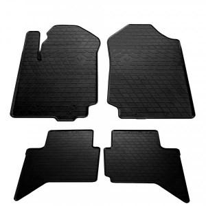 Комплект резиновых ковриков в салон автомобиля Ford Ranger 2011- (1007194)