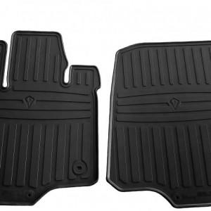 Передние автомобильные резиновые коврики Ford F-150 (Supercab) 2014- (1007222)