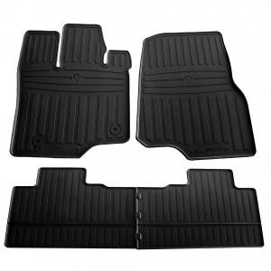 Комплект резиновых ковриков в салон автомобиля Ford F-150 (Supercab) 2014- (1007224)