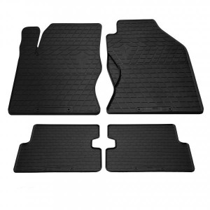 Комплект резиновых ковриков в салон автомобиля Ford Focus 1998-2005 (1007234)