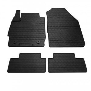 Комплект резиновых ковриков в салон автомобиля Ford Ka+ 2016- (1007274)