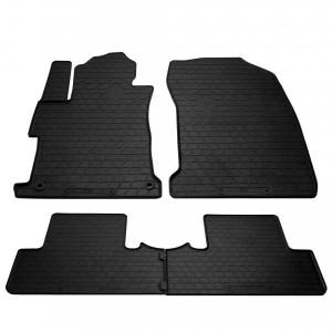 Комплект резиновых ковриков в салон автомобиля Honda Civic sedan (4d) (2011-2016) (1008174)