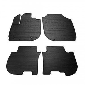 Комплект резиновых ковриков в салон автомобиля Honda Jazz IV 2015-2020 (1008194)