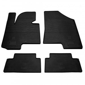 Комплект резиновых ковриков в салон автомобиля Hyundai iX35 2010- (1009064)