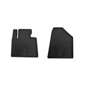 Передние автомобильные резиновые коврики Hyundai Santa Fe 2013- (1009072)
