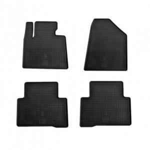 Комплект резиновых ковриков в салон автомобиля Hyundai Santa Fe 2013- (1009074)