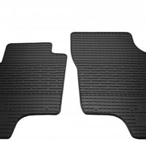 Передние автомобильные резиновые коврики Hyundai Getz 2002- (1009112)