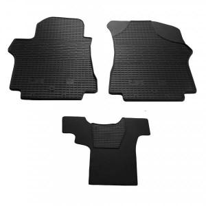Комплект резиновых ковриков в салон автомобиля Hyundai H1 (1+1) 2007- (1009133)