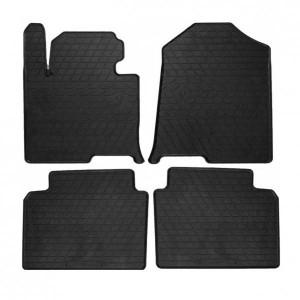 Комплект резиновых ковриков в салон автомобиля Kia Optima 2015 (1009164)