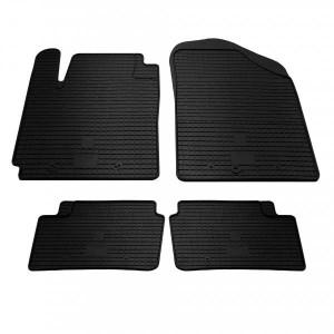 Комплект резиновых ковриков в салон автомобиля Hyundai i10 (1009184)