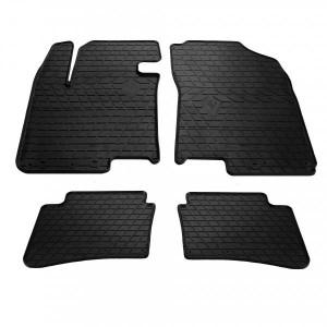 Комплект резиновых ковриков в салон автомобиля Hyundai I20 2008- (1009194)