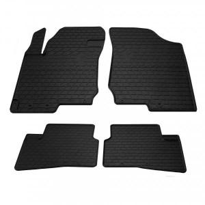 Комплект резиновых ковриков в салон автомобиля Hyundai i30 2006- (design 2016) (1009264)
