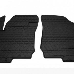 Передние автомобильные резиновые коврики Kia Ceed 2007- (design 2016) (1009262)