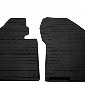 Передние автомобильные резиновые коврики Hyundai Santa Fe 2018- (1009272)