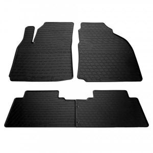 Комплект резиновых ковриков в салон автомобиля Hyundai Matrix 2001- (1009284)