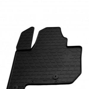 Водительский резиновый коврик Kia soul EV 2014- (1010154 ПП)