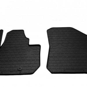 Передние автомобильные резиновые коврики Kia soul EV 2014- (1010152)
