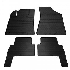 Комплект резиновых ковриков в салон автомобиля Kia Sorento 2009- (1010164)