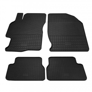 Комплект резиновых ковриков в салон автомобиля Mazda 6 2008-2013 (1011014)
